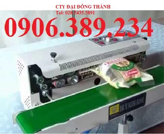 Máy hàn miệng túi liên tục thổi khí FRD-1000 giá rẻ nhất
