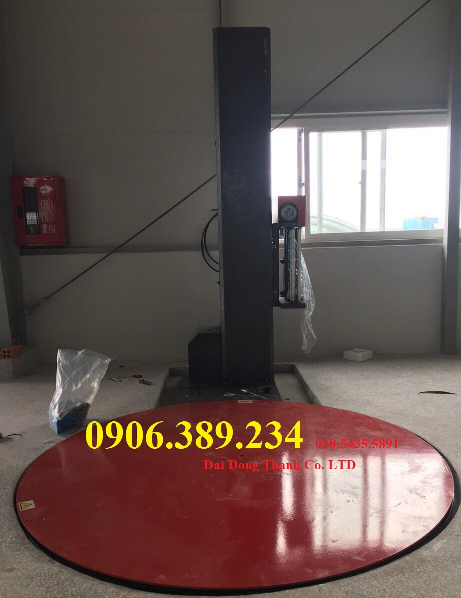 Máy quấn màng chít, máy quấn màng pe giá rẻ tại Hà Nội, Hải Dương, Hưng Yên