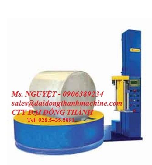 Máy quấn màng pallet dạng cuộn tự động WP-57 giá rẻ Đồng Nai, HCM, Hà Nội