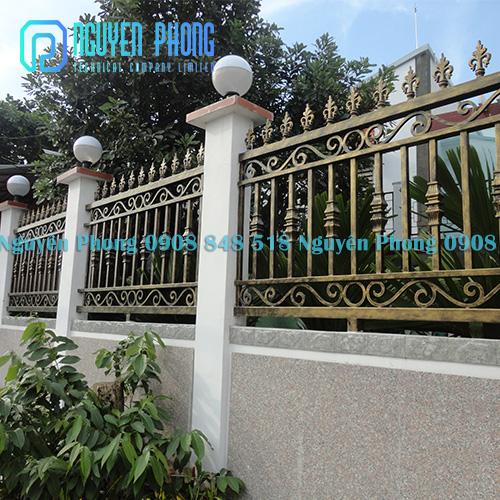 Cổng biệt thự, hàng rào sang trọng, cắt CNC hiện đại, thẩm mỹ