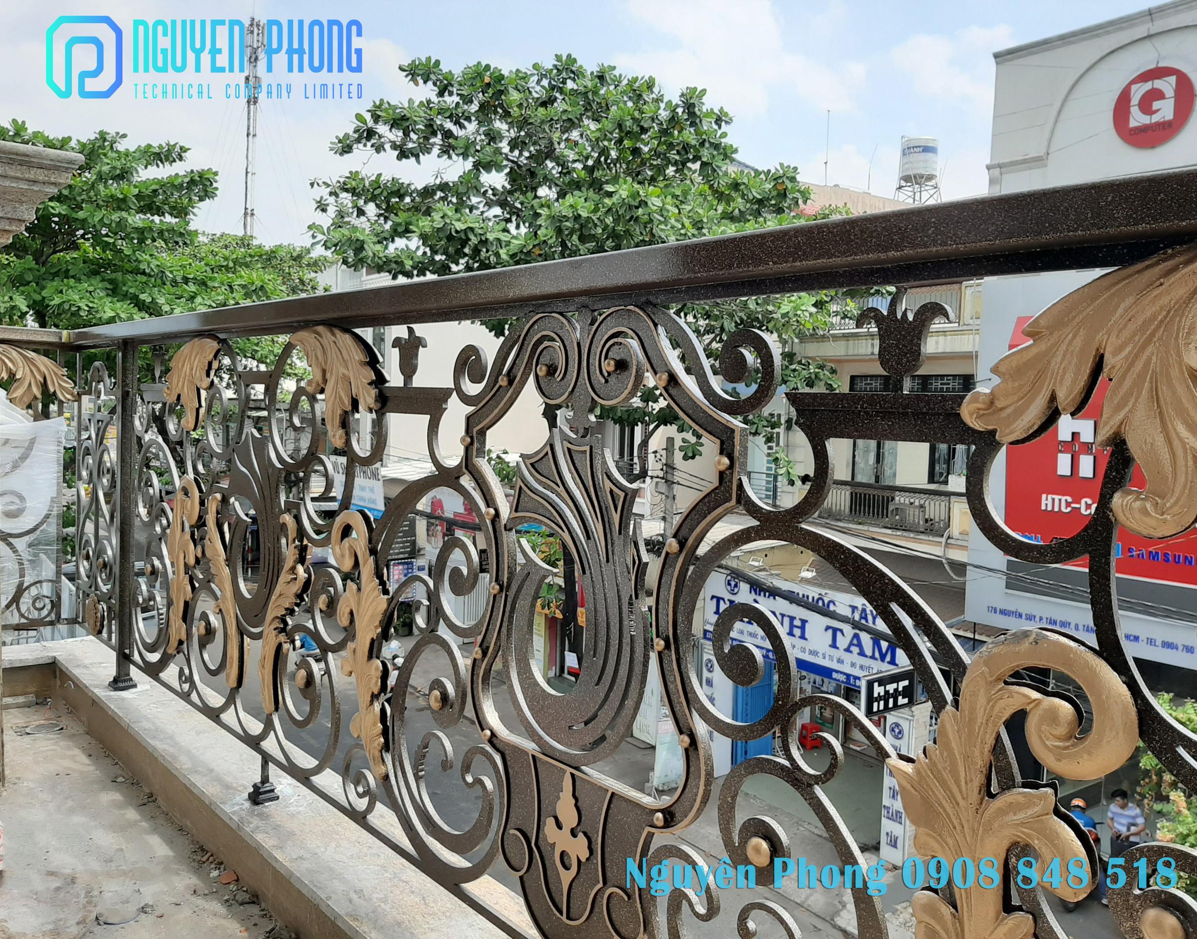 Cung cấp, thi công trọn gói cổng cửa, hàng rào, lan can, vách ngăn sắt nghệ thuật đẹp nhất 2020