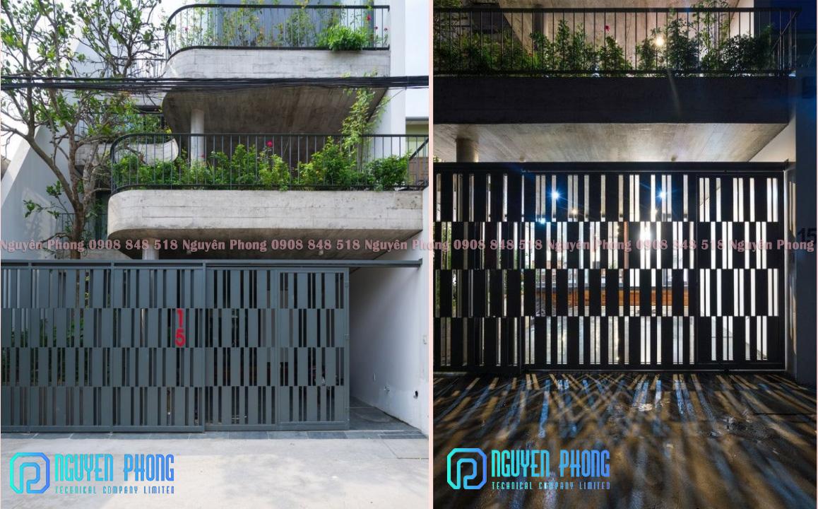 Gia công, cung cấp cửa cổng, hàng rào, lan can ban công, cầu thang, vách ngăn sắt mỹ thuật, sơn epoxy 2 lớp
