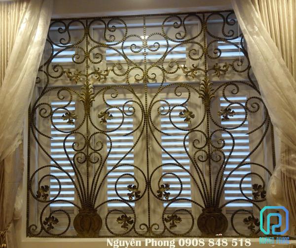 Mẫu khung bảo vệ, khung bảo vệ cửa sổ đẹp nhất cho biệt thự, nhà phố 2020