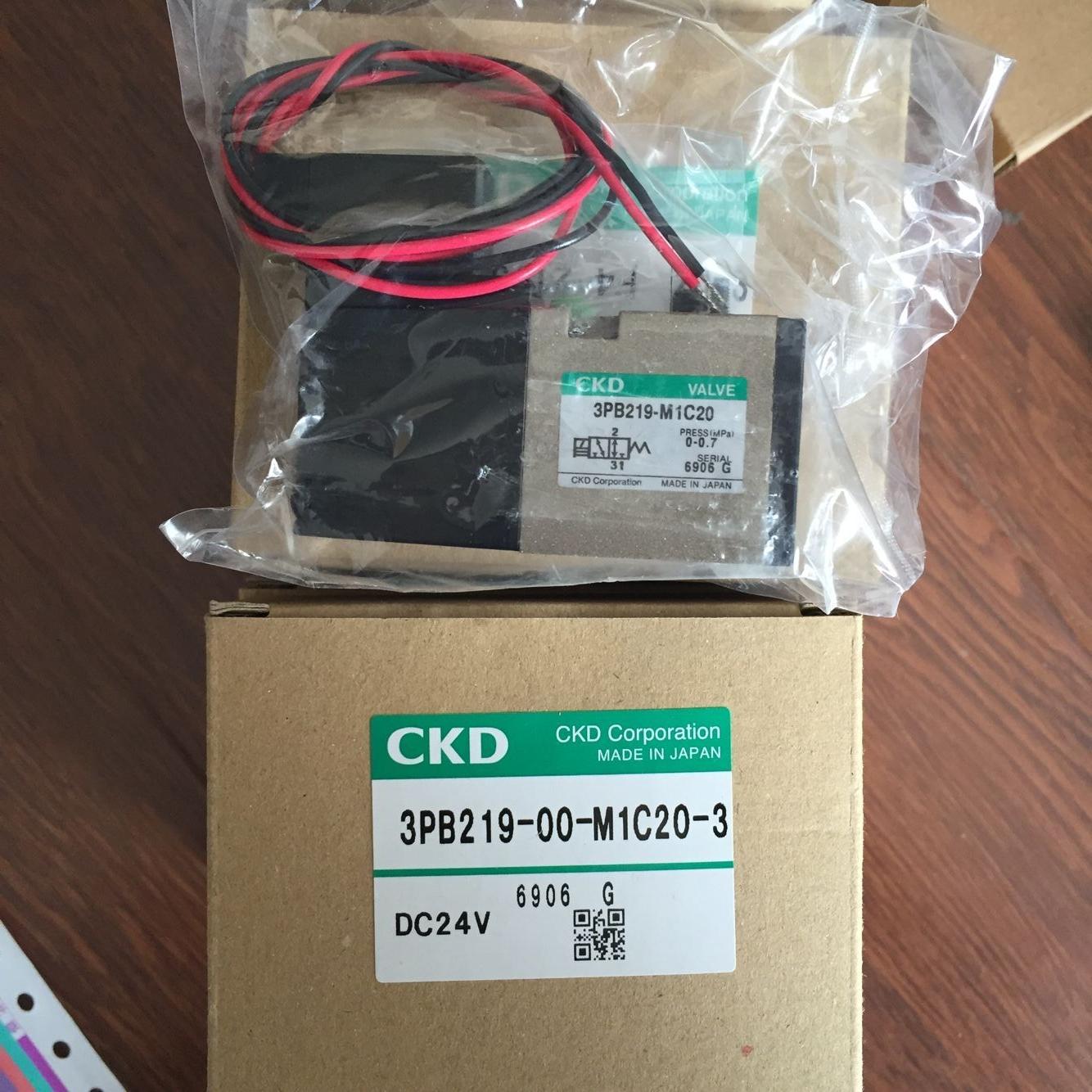 Van điện từ CKD 3PB219-00-M1C20-3