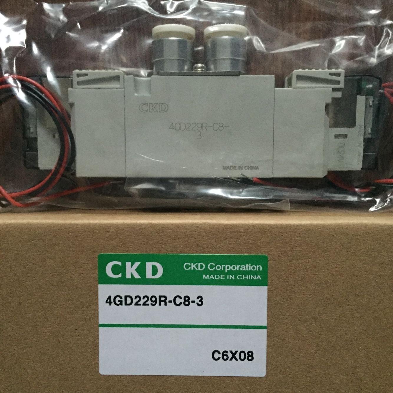 Van điện từ CKD 4GD229R-C8-3