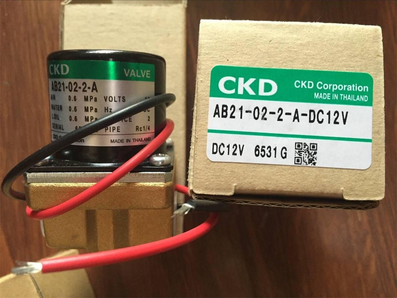 Van điện từ CKD AB21- 02-2-A-DC12V