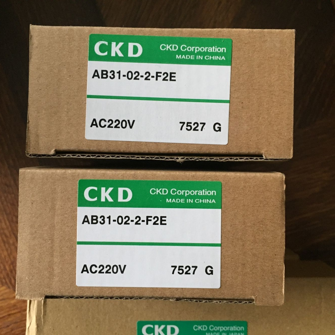 Van điện từ CKD AB31- 02-2-F2E