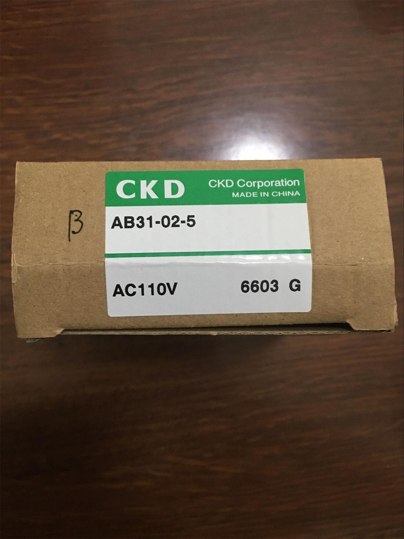 Van điện từ CKD AB31- 02-5-AC110V