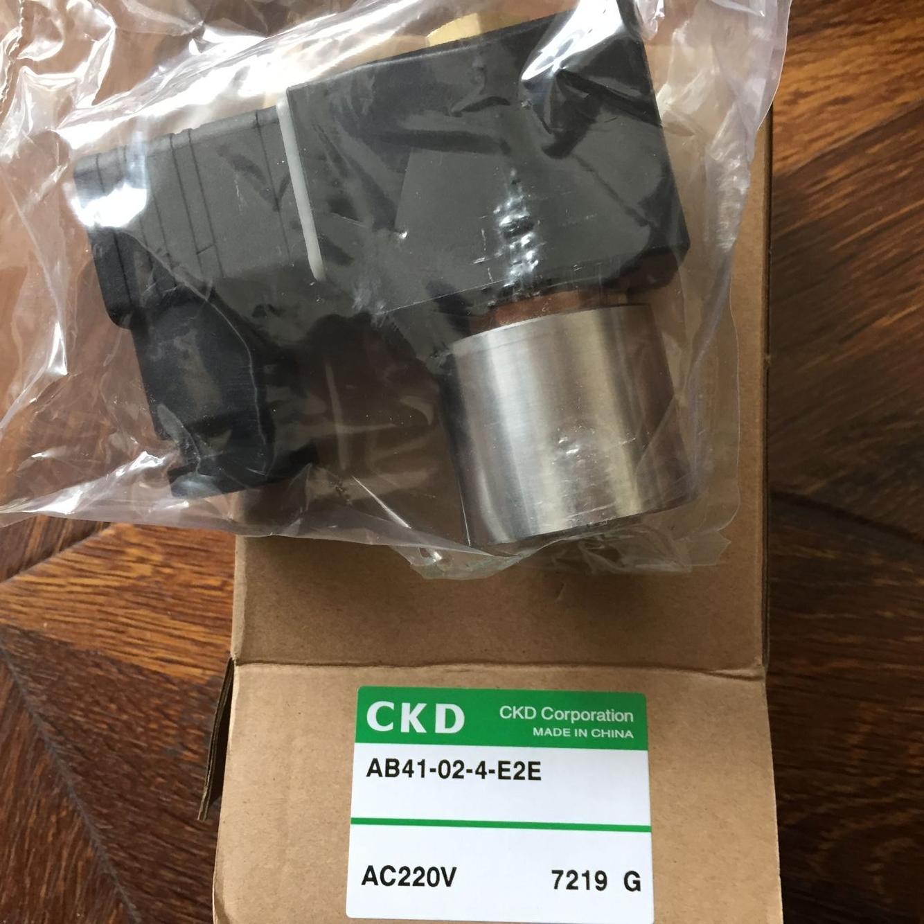 Van điện từ CKD AB41- 02-4-E2E-AC220V