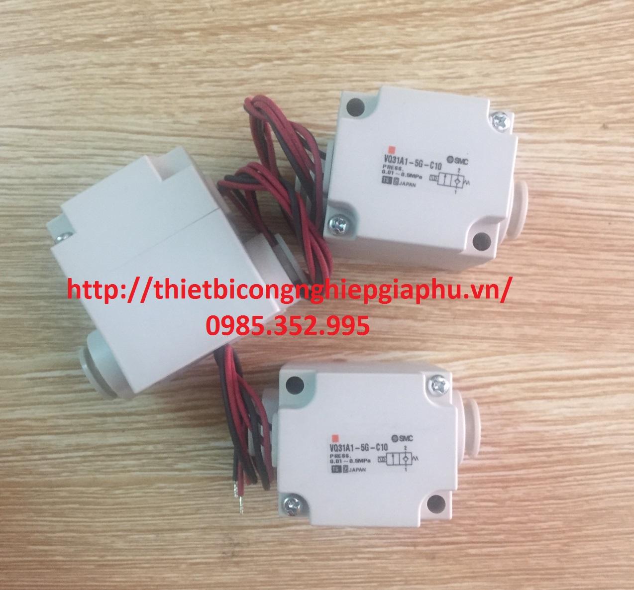 Van Khí SMC VQ31A1-5G-C10