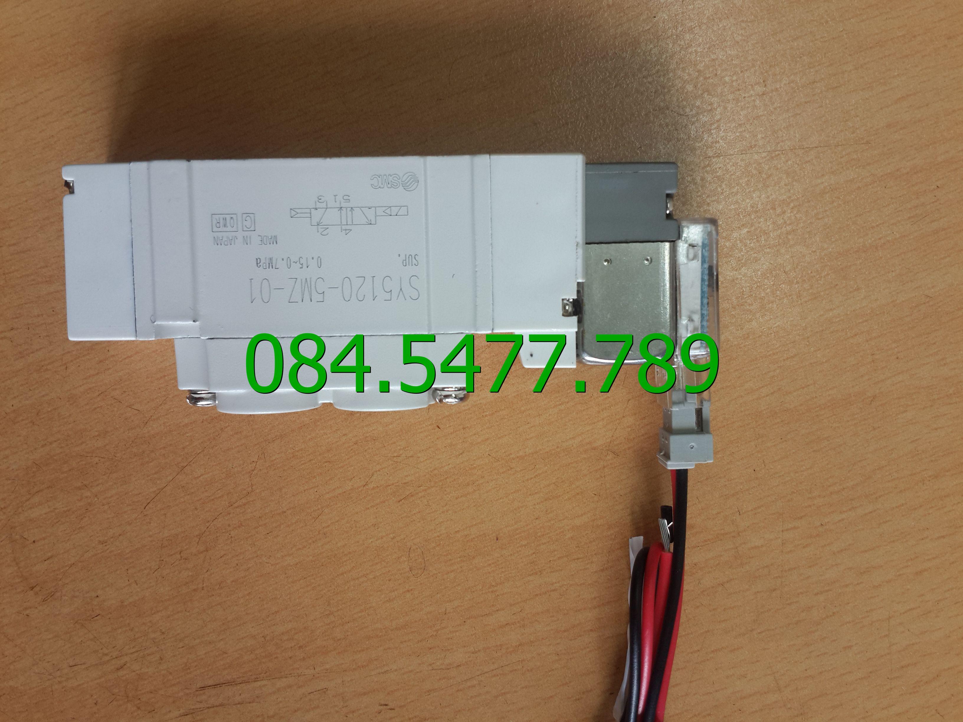 Van điện SY5120-5DZ-01(24V)