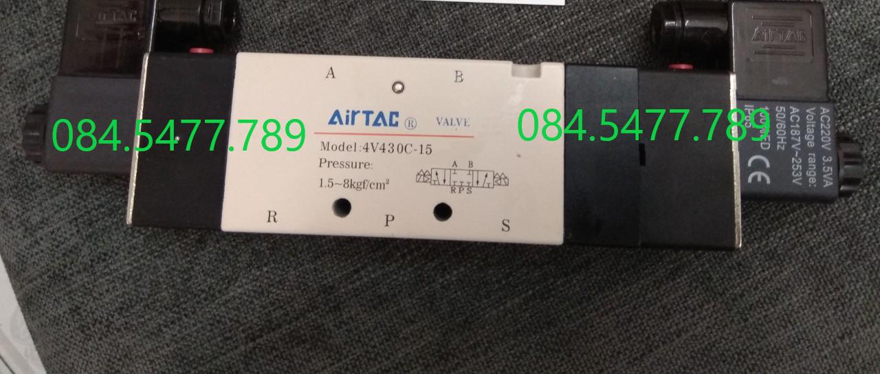 Van Điện Từ Khí Nén AIRTAC 4V430-15