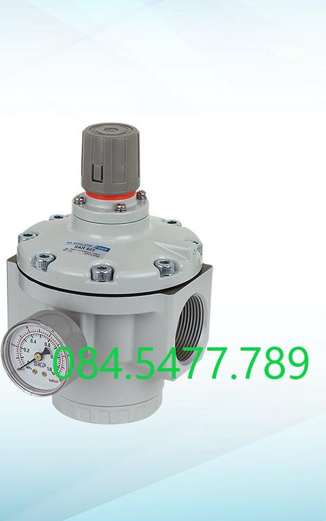 Van điều áp khí nén SKP SAR600-06BG (ren 27mm)