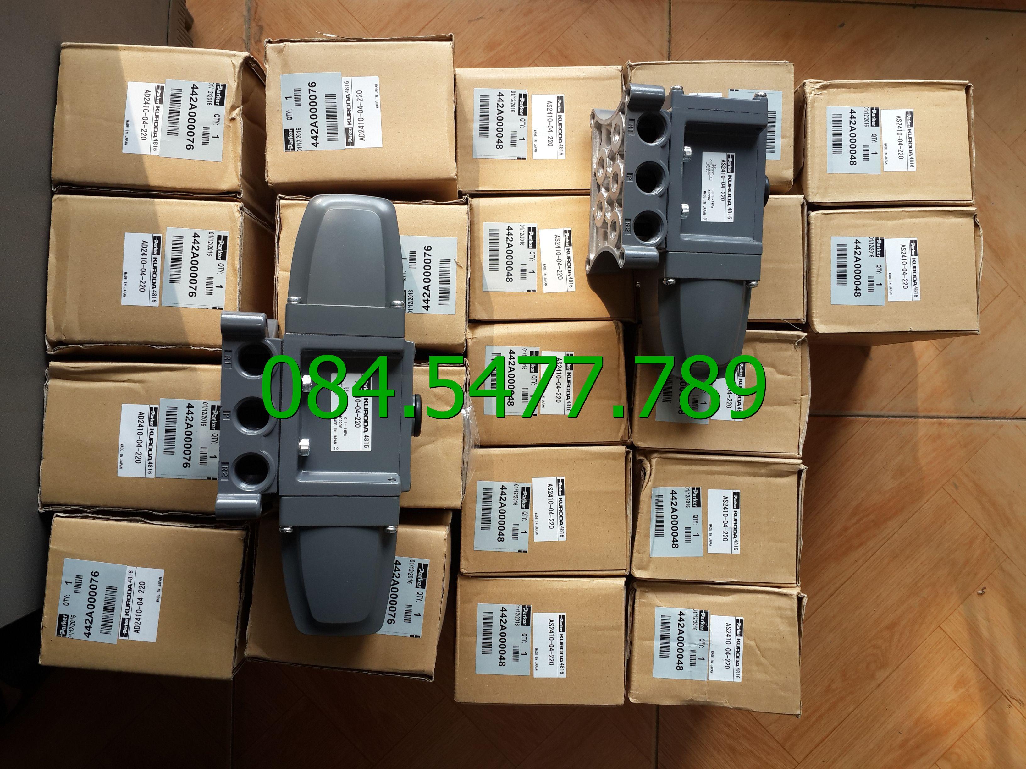 Van khí nén AS2410-04-A220  (kuroda)