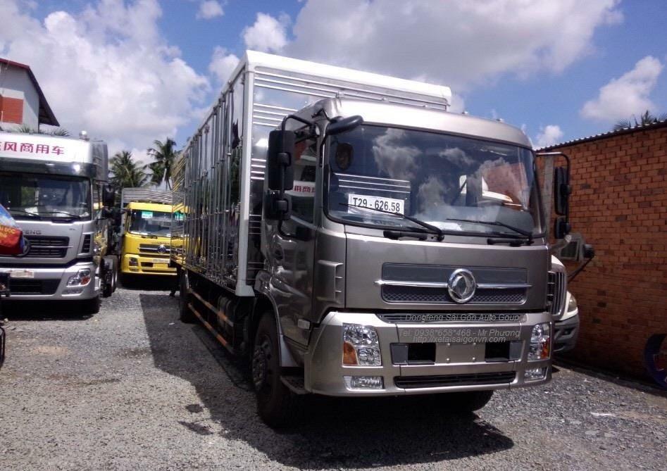 bán xe chuyên chở nệm 7 tấn thùng dài 9m3 .