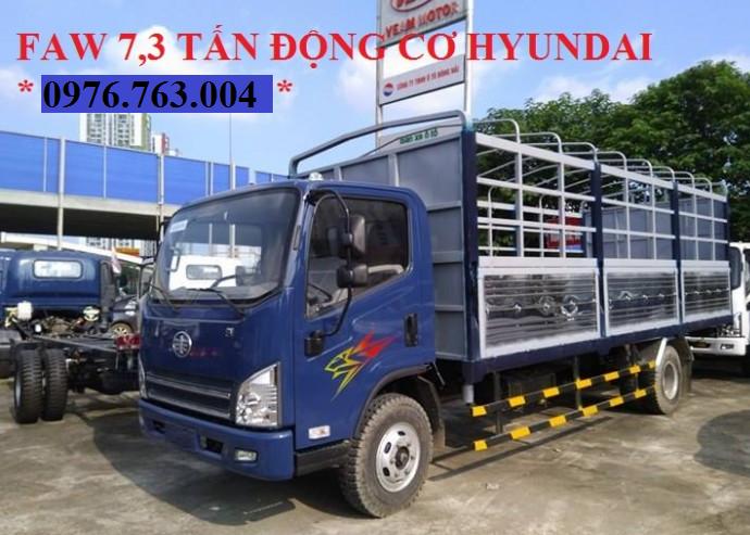 xe tải 7 tấn 3 thùng mui bat dài 6m2 máy hyundai nhập khẩu .