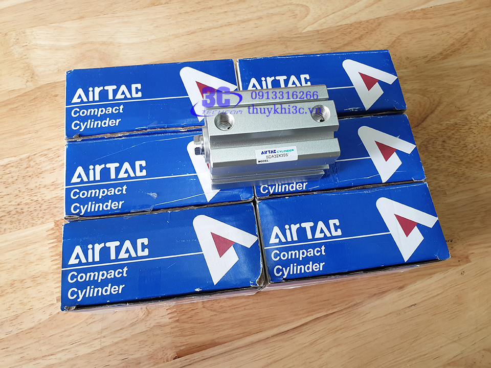 Airtac Compact Cylinder SDA Series