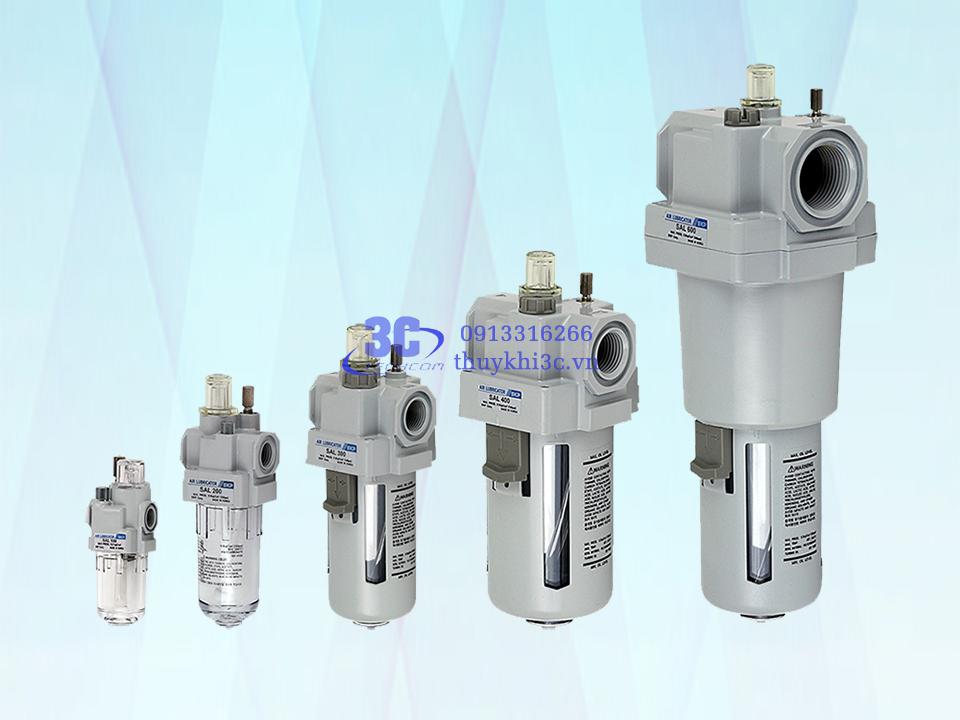 Bộ chứa & cấp dầu bôi trơn khí nén (bộ mù dầu) SKP SAL Series