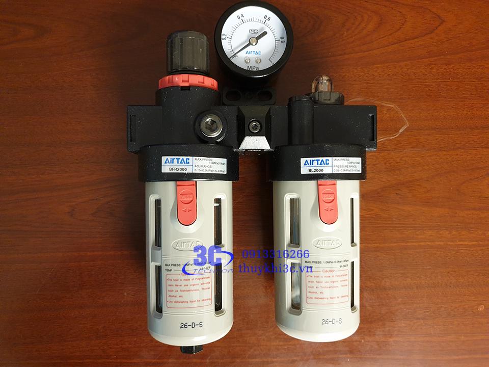 Bộ lọc đôi khí nén Airtac BFC Series