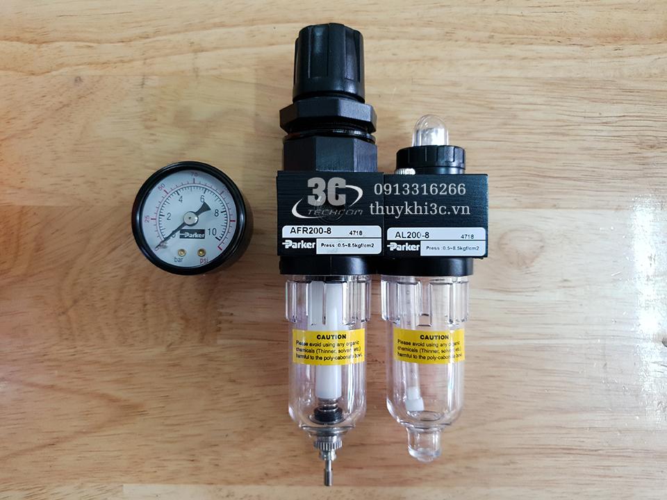 Bộ lọc đôi khí nén Parker AU210-8, AU321-8, AU321-8-AD41, AU321-10, AU321-10-AD41, AU421-15, AU421-15-AD41