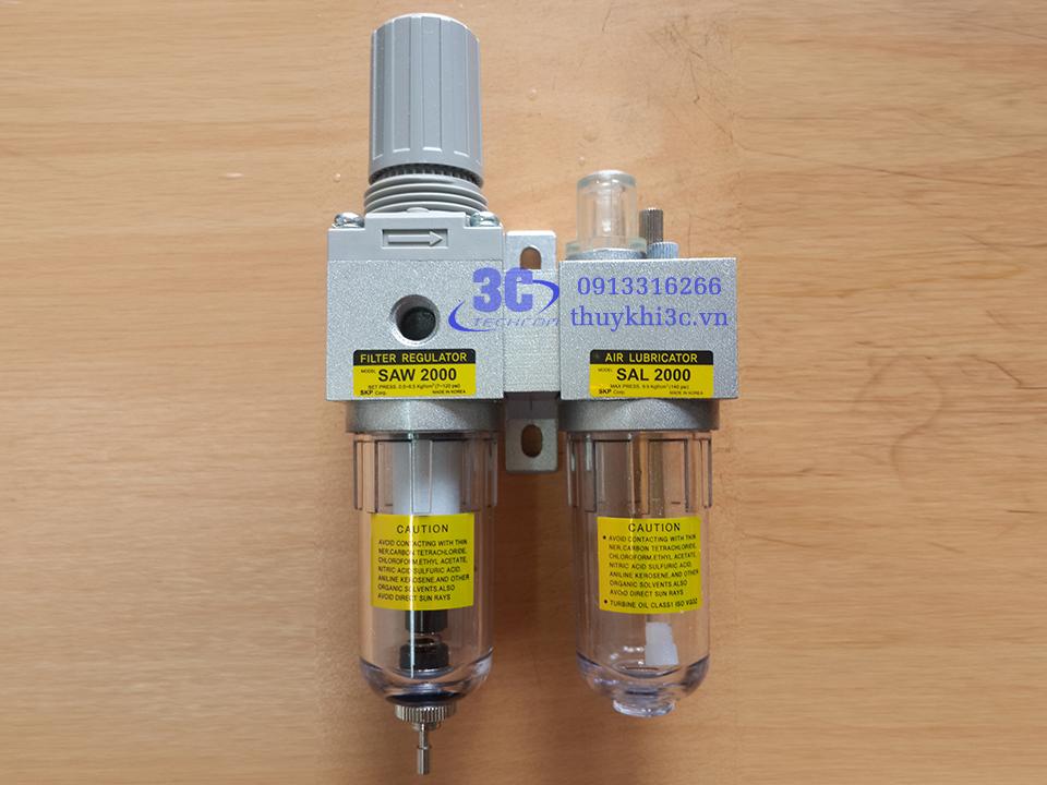 Bộ lọc khí SAU2010-02G, xuất xứ SKP -Hàn Quốc