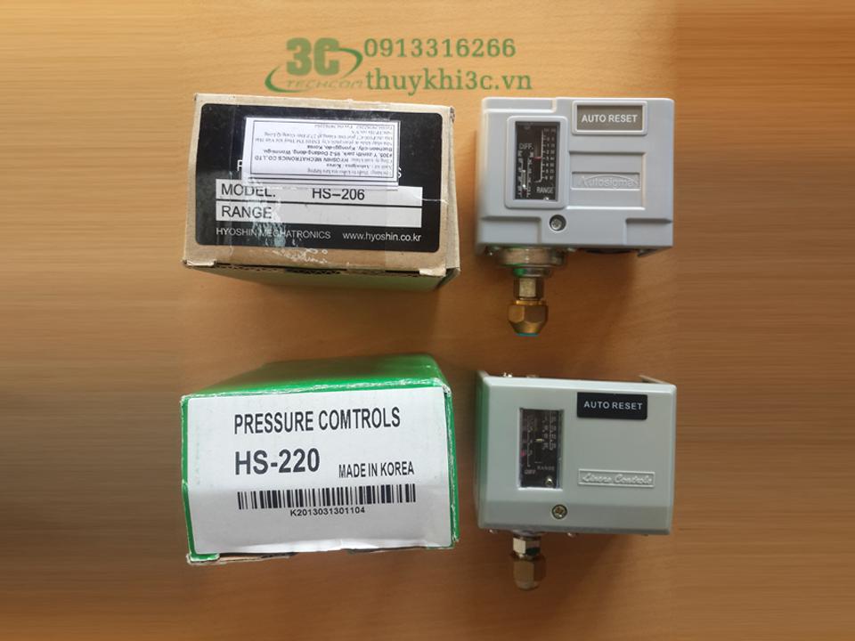 Công tắc áp suất Autosigma HS-203/HS-206/HS-210/ HS220/HS230