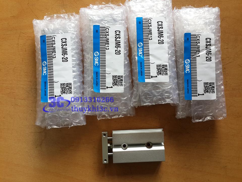 Xi lanh khí nén SMC CXS series (Compact)