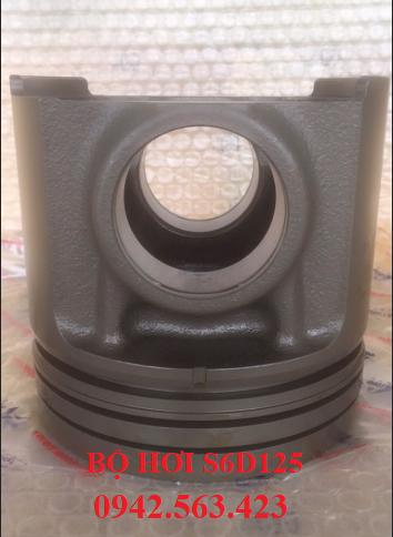 Phụ tùng động cơ - bộ hơi S6D125 lắp cho PC400-3, PC400-5