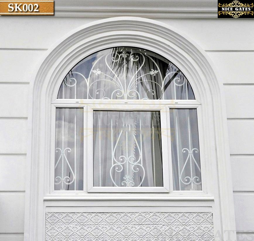 Khung sắt bảo vệ cửa sổ
