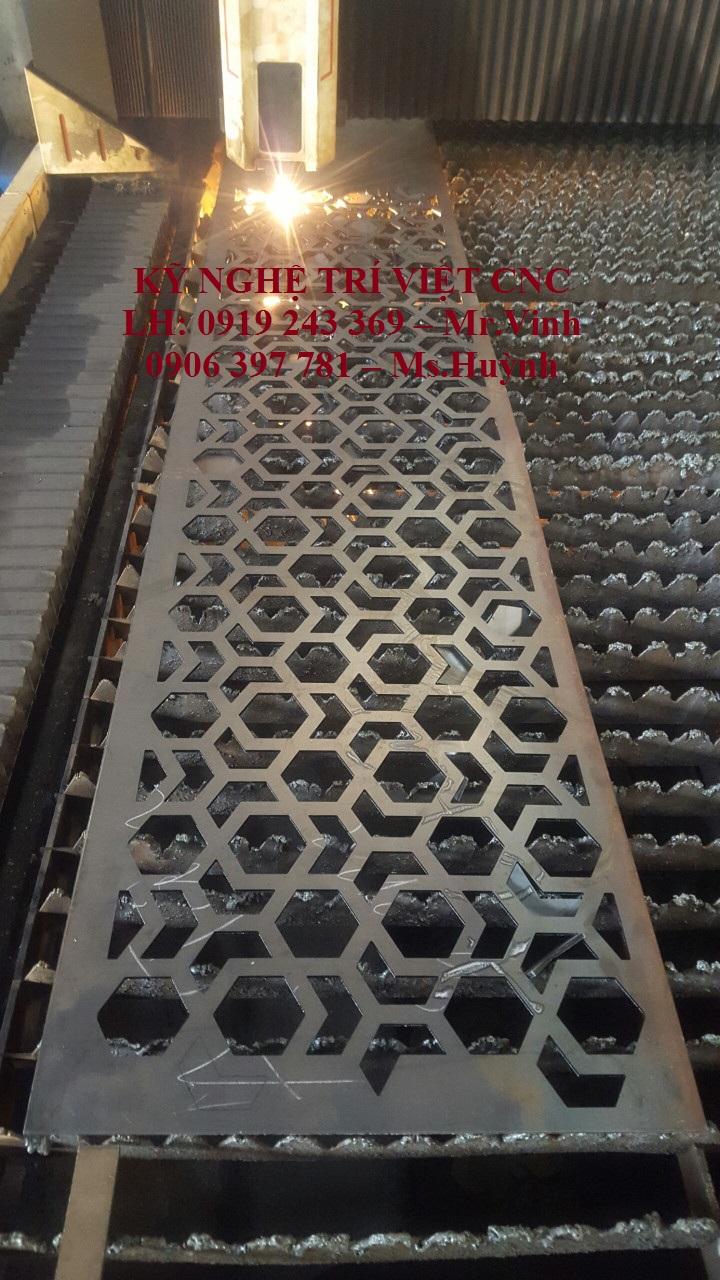 Gia công CNC kim loại, cắt hoa văn và chi tiết máy chuyên nghiệp
