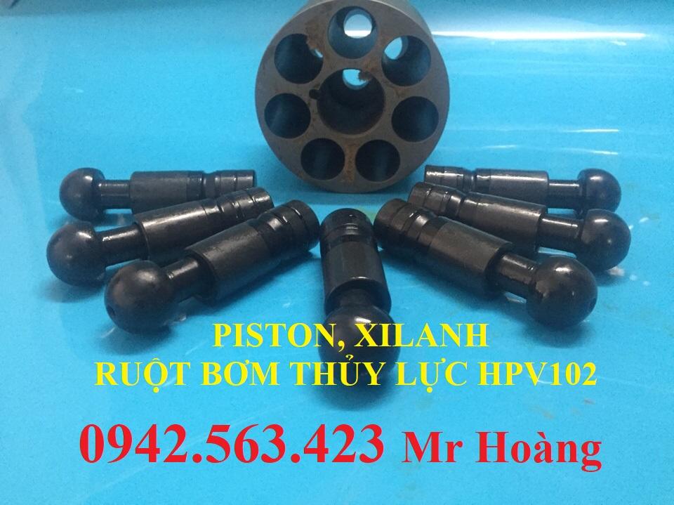 Ruột bơm thủy lực HPV102,HPV90, HPV75, K3V63, K3V140, K3V180, K5V80
