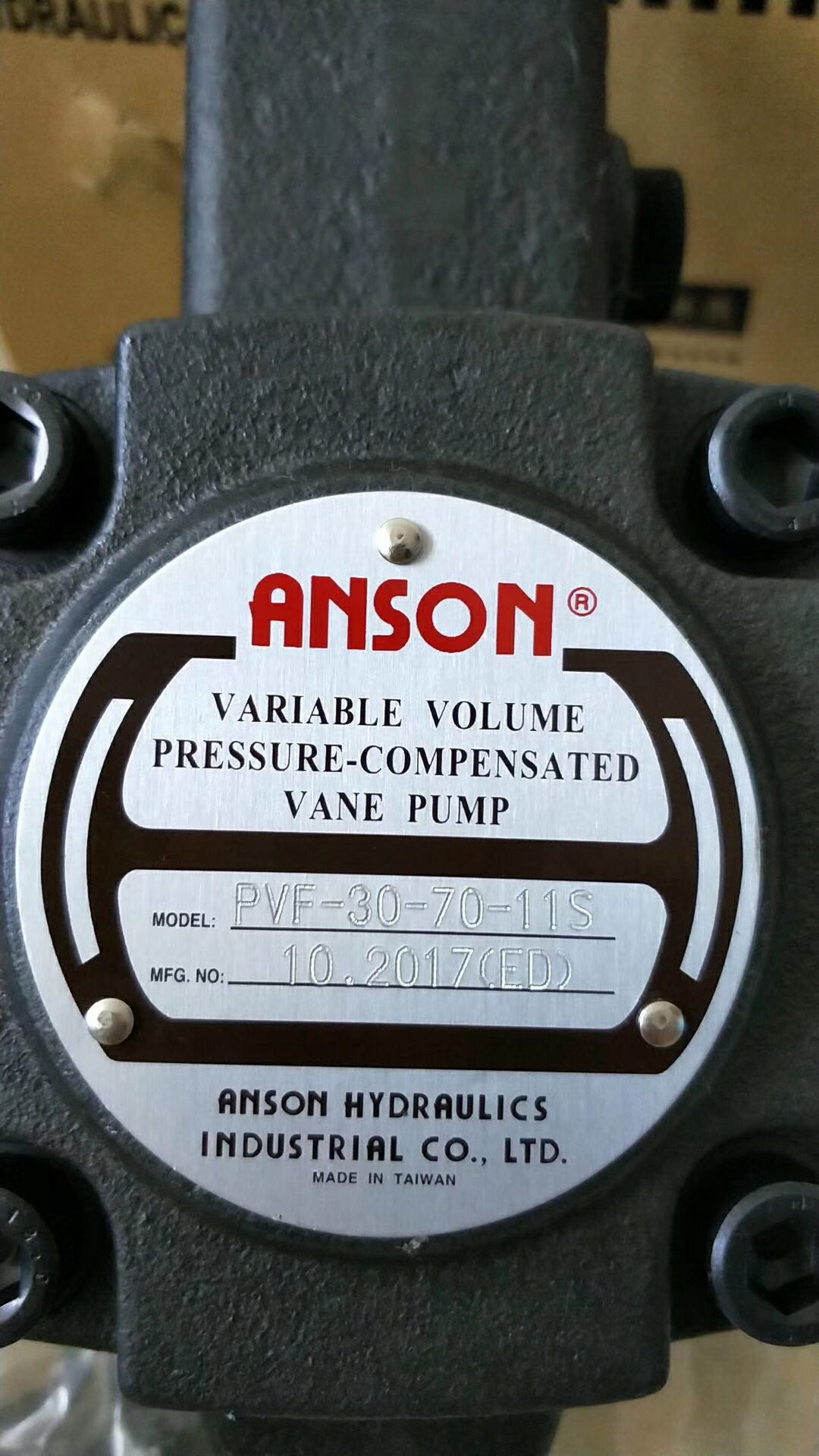 Bơm thủy lực ANSON PVF-30-70-11S