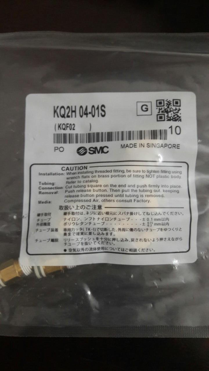 Đầu nối SMC KQ2H-08-1S