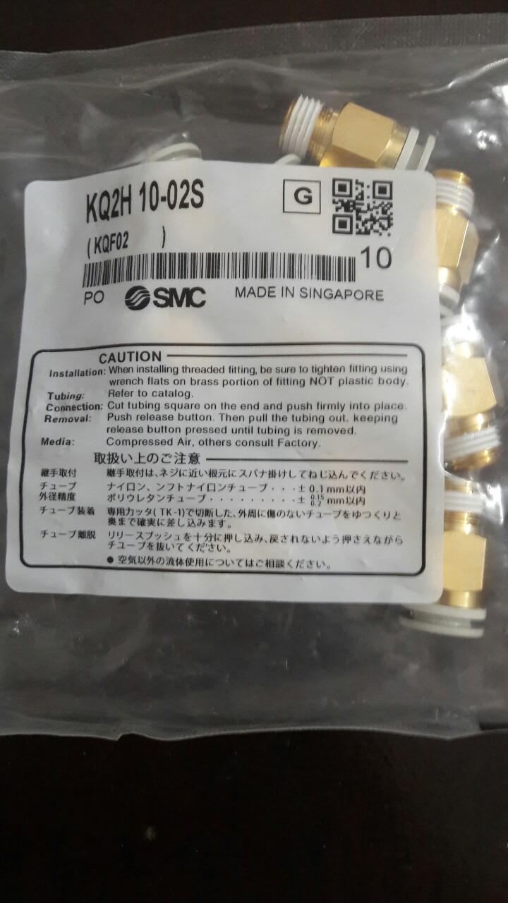 Đầu nối SMC KQ2H-10-2S