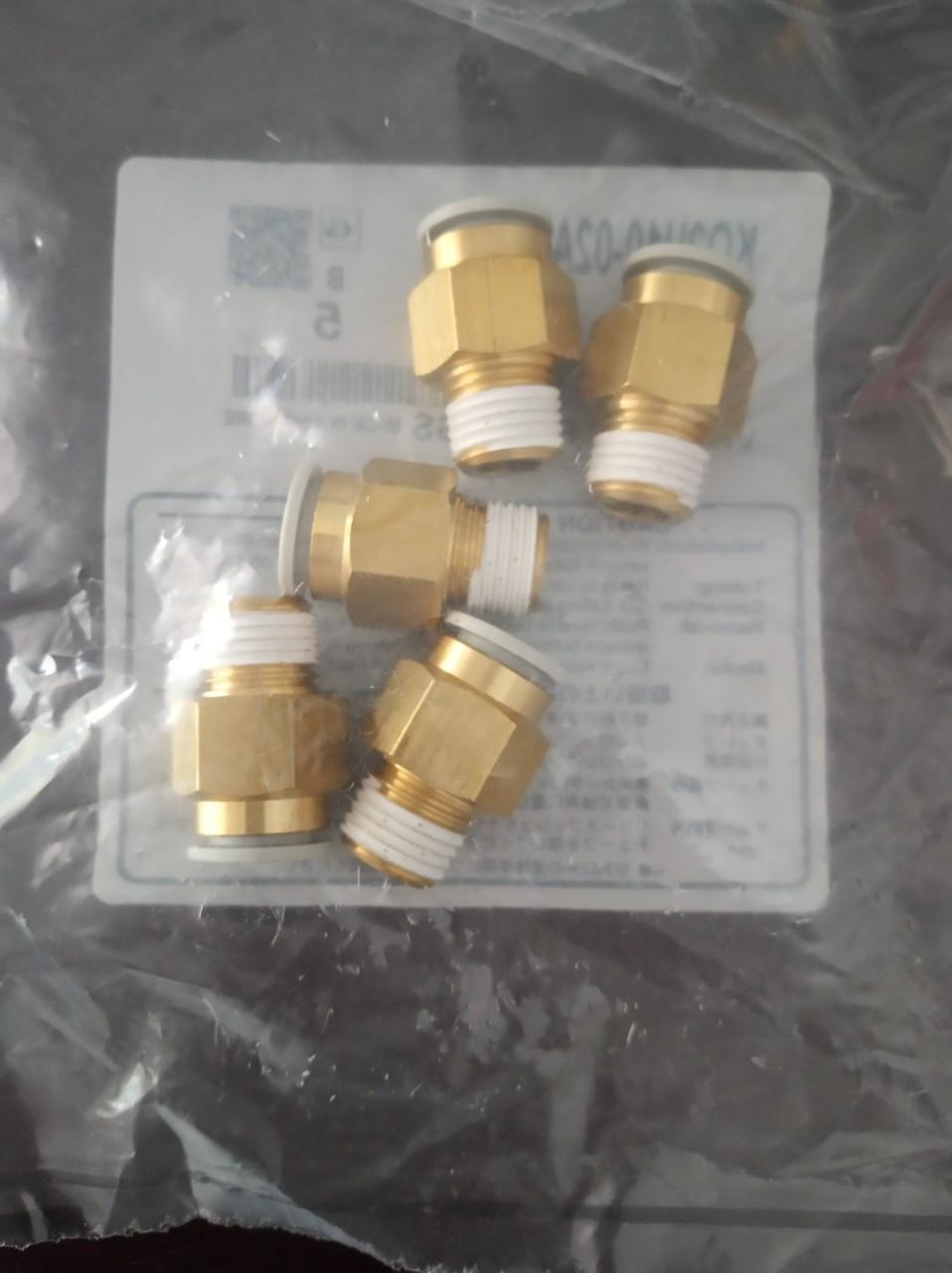Đầu nối SMC KQ2H10-02AS