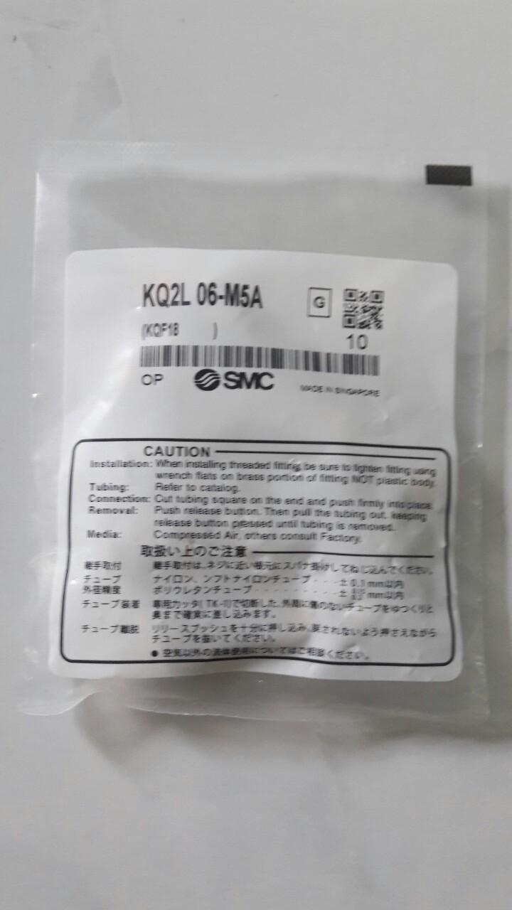 Đầu nối SMC KQ2L 06-M5A