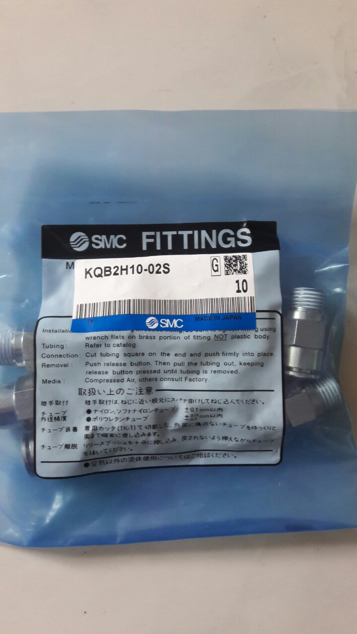 Đầu nối SMC KQB2H10-02S