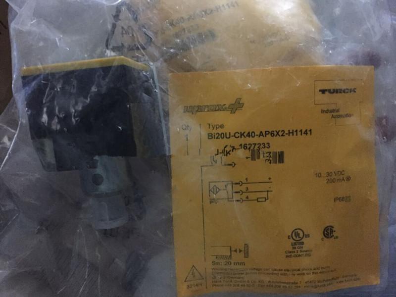 TURCK BI15U-CK40-AP6X2-H1141