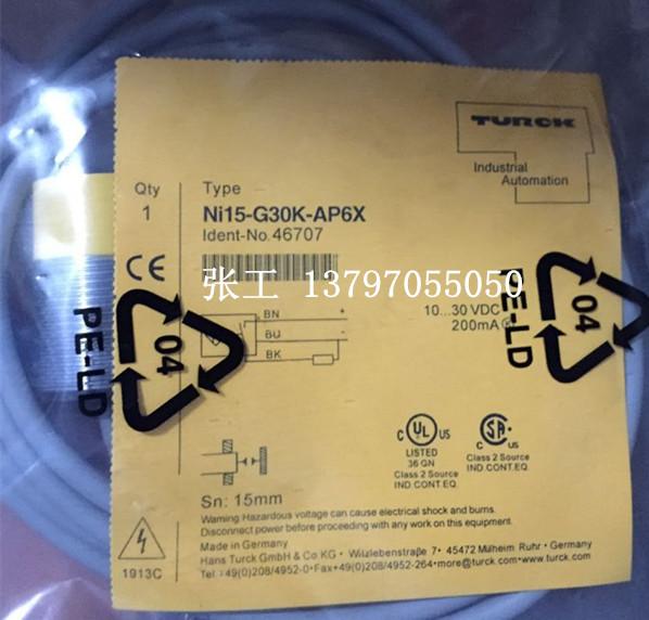 TURCK NI15-G30K-AN6X
