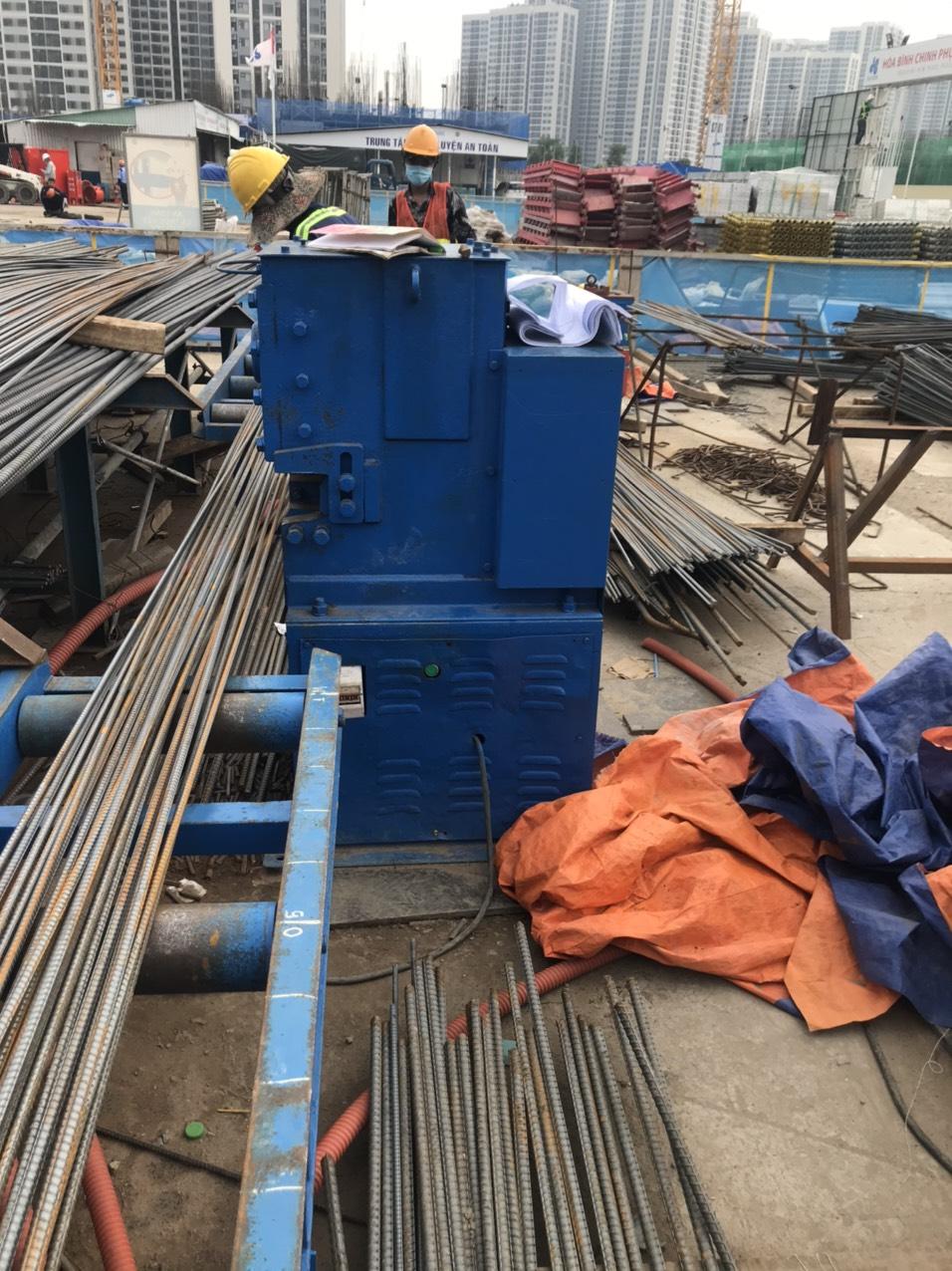 cho thuê máy cắt sắt 32 KUNWOO kmc-42