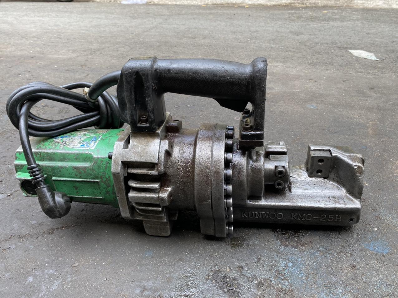 máy cắt sắt 25 kunwoo kmc-25h hàng bãi