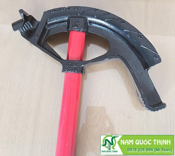 Dụng cụ bẻ ống cầm tay dùng hiệu quả đối với ống thép EMT