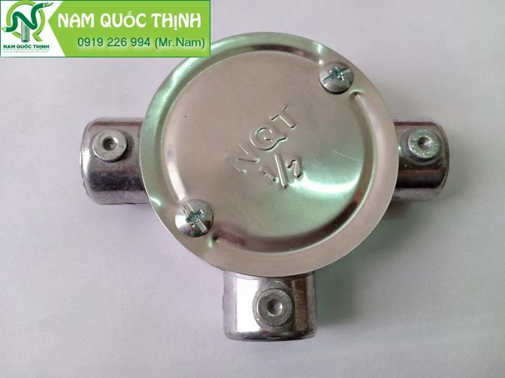 Hộp nối ren 3 ngã dùng cho ống thép ren IMC