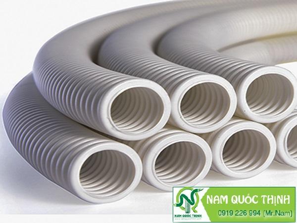 Ống ruột gà nhựa pvc phân phối tại Nam Quốc Thịnh