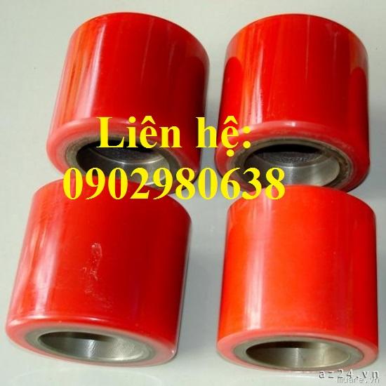 Bánh xe Pu 70x60cm sử dụng cho xe nâng tay