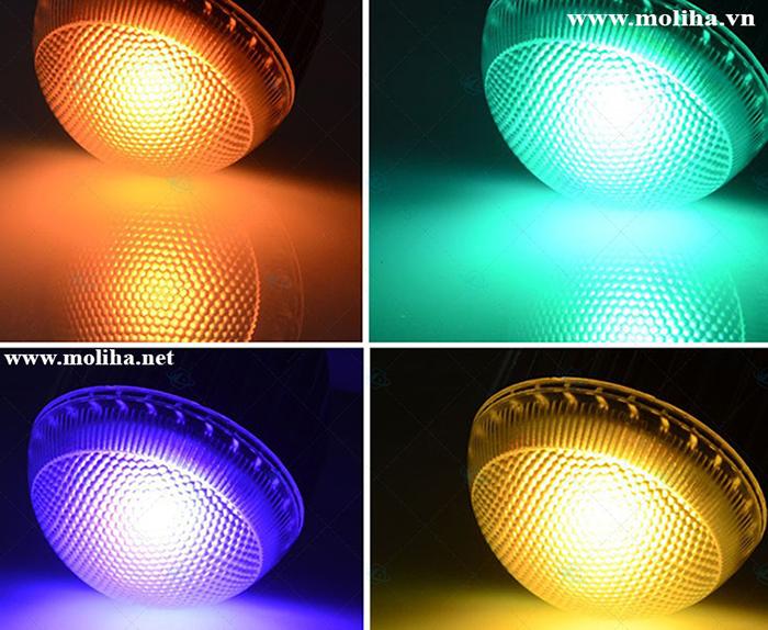 ĐÈN LED ĐỔI MÀU ĐIỀU KHIỂN TỪ XA RGB