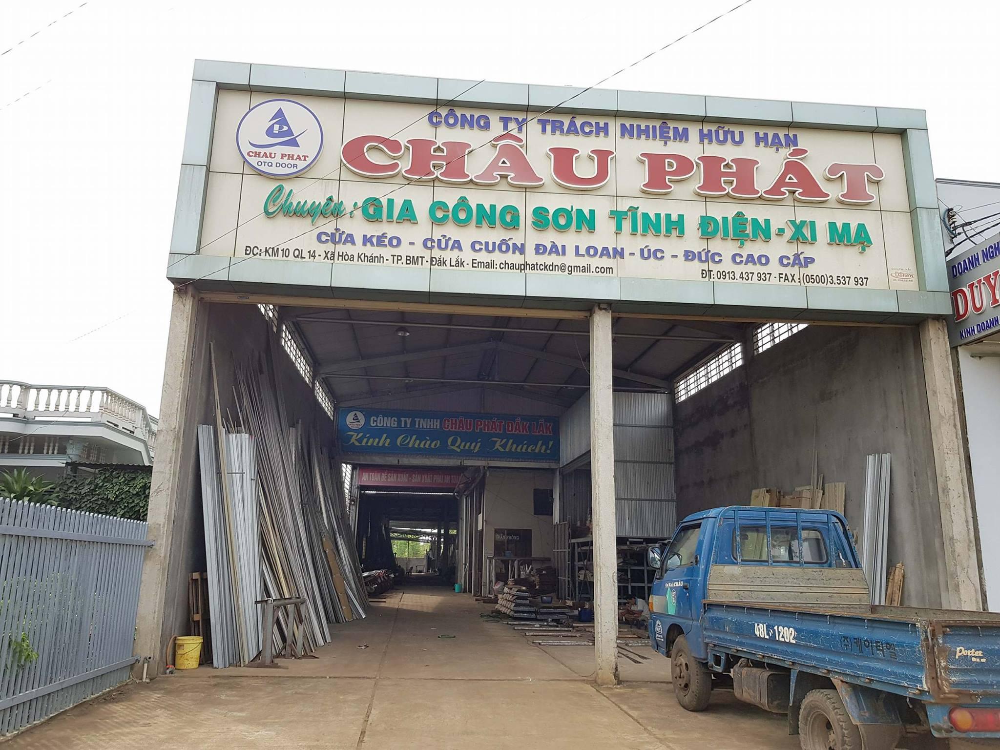 Lắp đặt cửa kéo, cửa cuốn Đài Loan, Đức, Úc; cửa cuốn khe thoáng Buôn Mê Thuột (BMT)