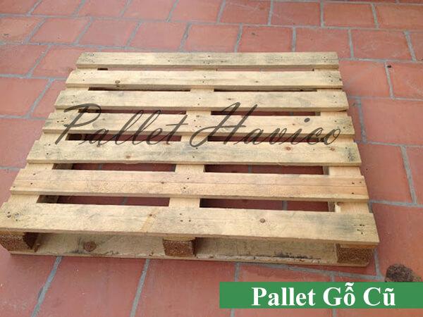 Thanh lý pallet gỗ thông cũ giá rẻ