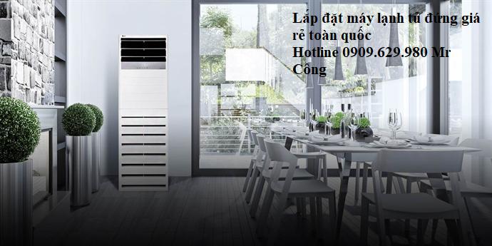Giá ưu đãi máy lạnh tủ đứng Mitsubishi Electric 6hp