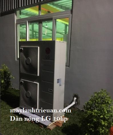 máy lạnh 10hp cho nhà xưởng